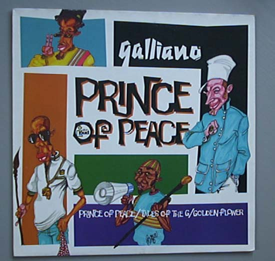 GALLIANO - PRINCE OF PEACE