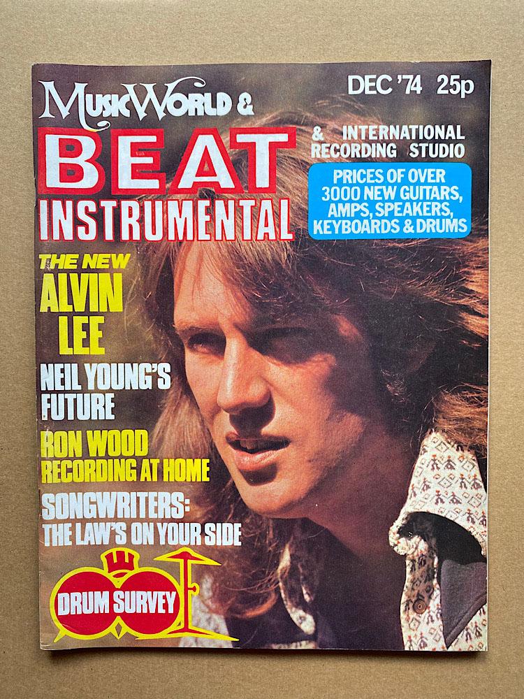 ALVIN LEE - BEAT INSTRUMENTAL - Magazine