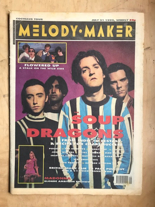 SOUP DRAGONS - MELODY MAKER - Magazine