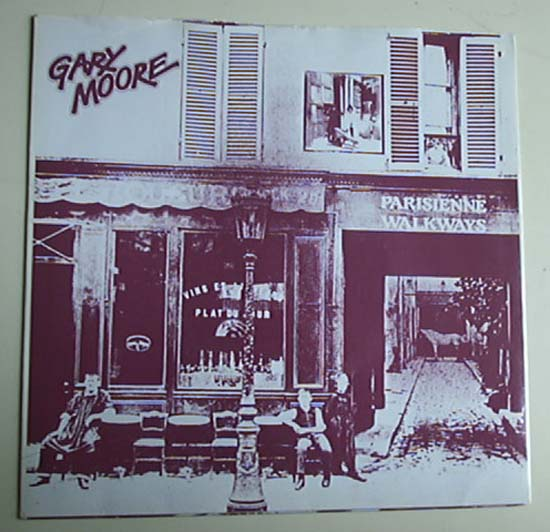 GARY MOORE - Parisienne Walkways Single