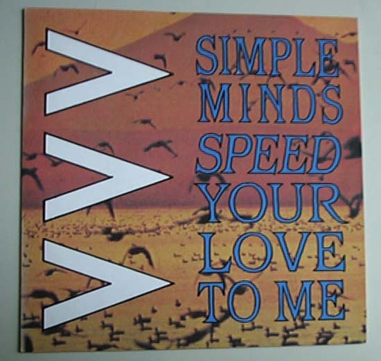 SIMPLE MINDS - Speed Your Love To Me CD