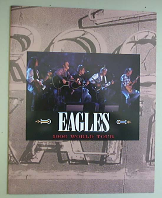 EAGLES - 1996 TOUR - Concert Program