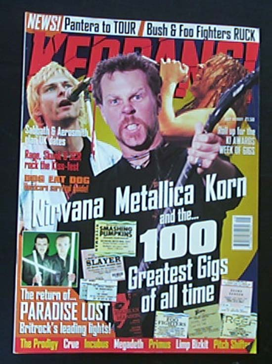 METALLICA - Kerrang No.657