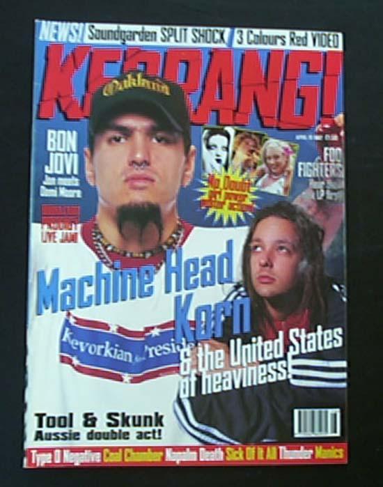 MACHINE HEAD - KERRANG NO.644