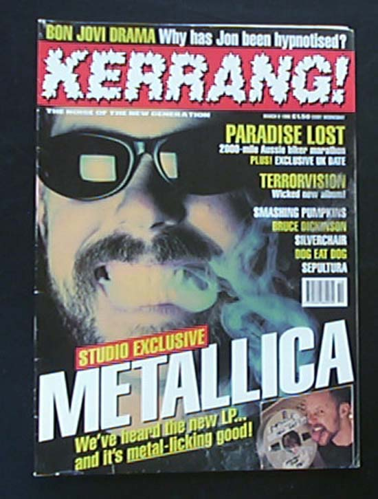 METALLICA - Kerrang No.587