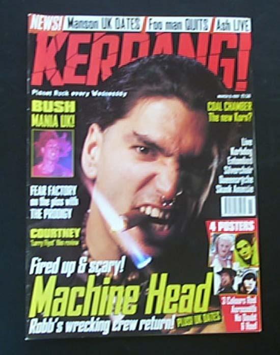 MACHINE HEAD - KERRANG NO.639