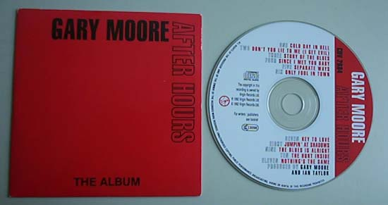 GARY MOORE - After Hours (instore)