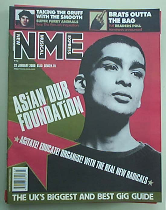 ASIAN DUB FOUNDATION - NME - Magazine