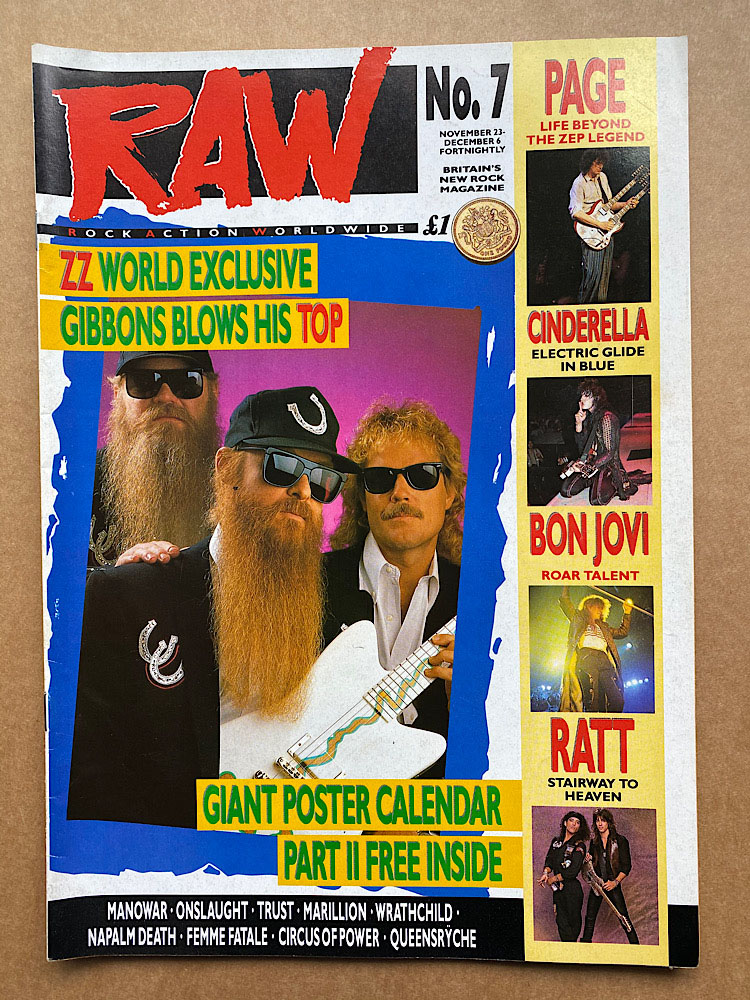 ZZ TOP - RAW NO.7