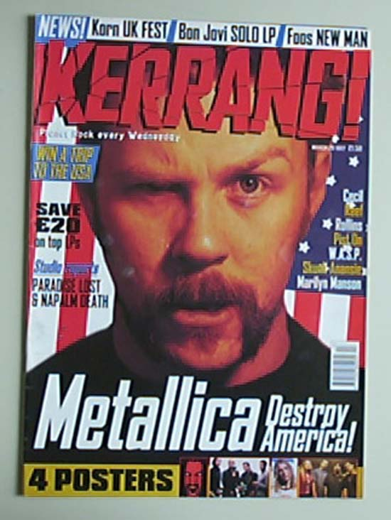 METALLICA - Kerrang No.641