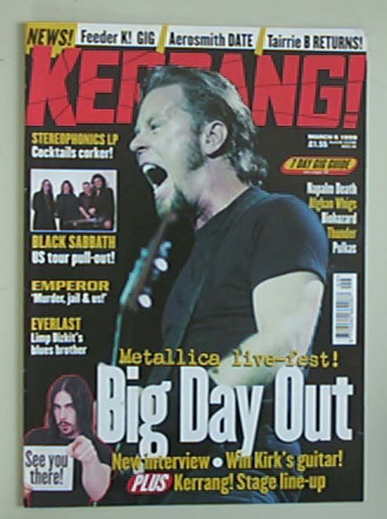 METALLICA - Kerrang No.740
