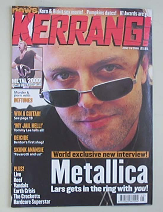METALLICA - Kerrang No.807