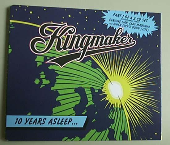 KINGMAKER - 10 YEARS ASLEEP ... - CD single