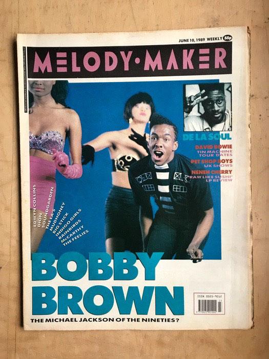 BOBBY BROWN - MELODY MAKER - Magazine