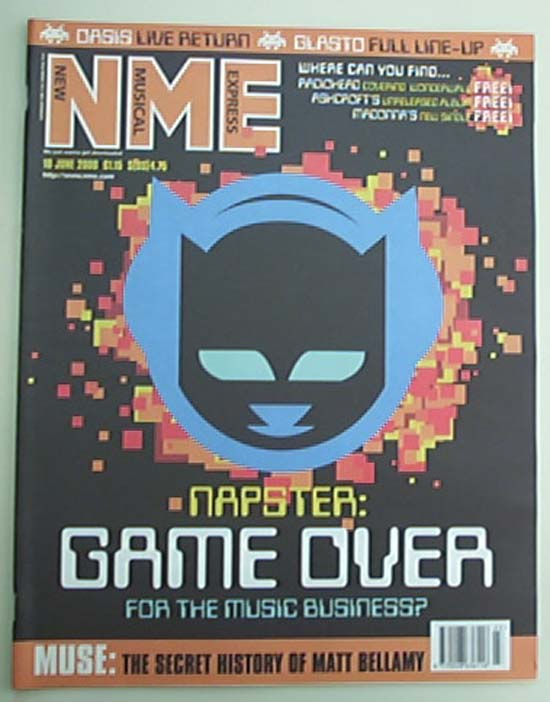 NAPSTER - NME