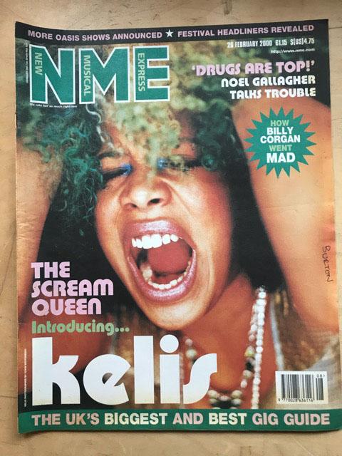 KELIS - NME - Magazine