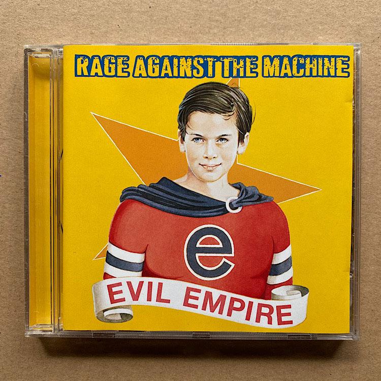 RAGE AGAINST THE MACHINE - Evil Empire Record