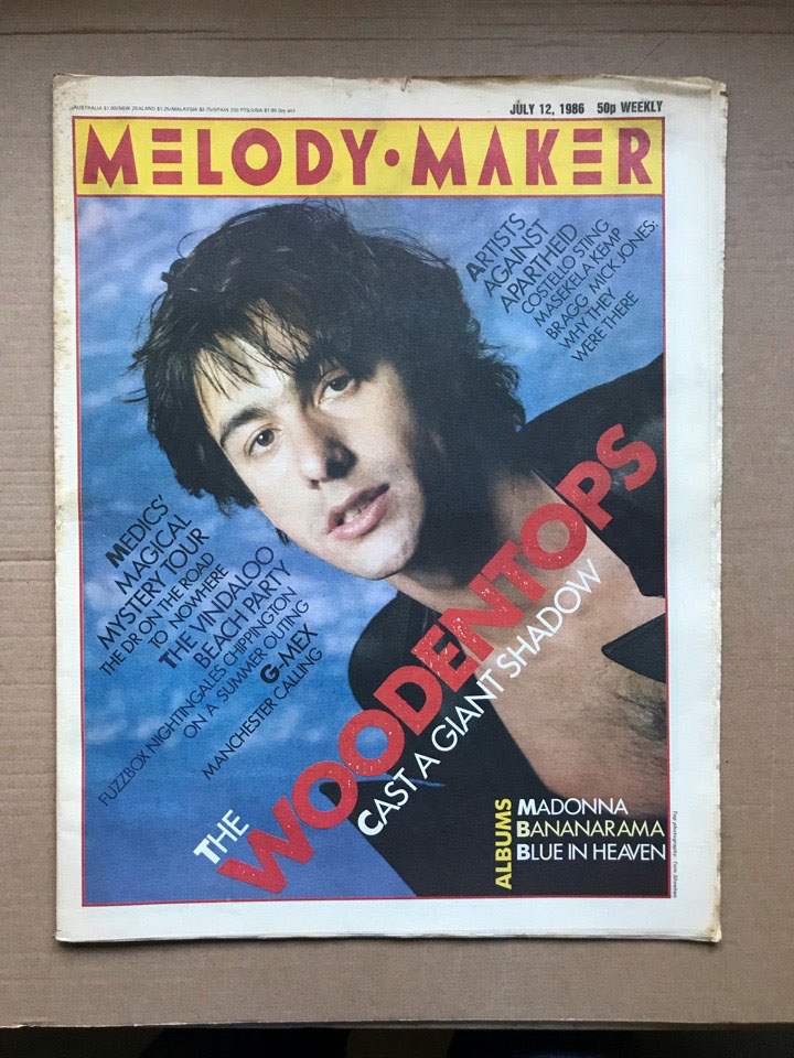 WOODENTOPS - MELODY MAKER - Magazine