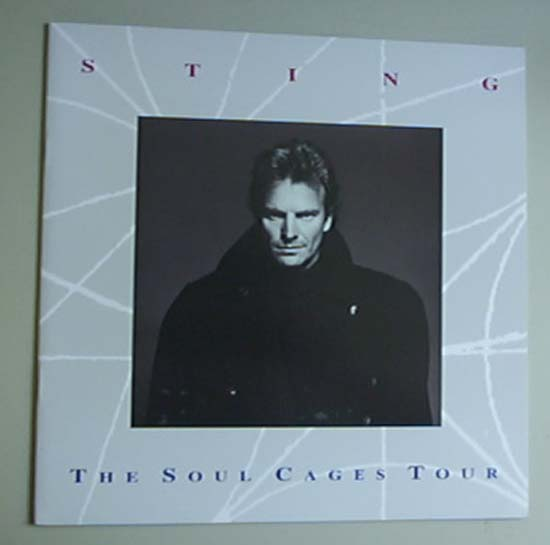 STING - Soul Cages Tour