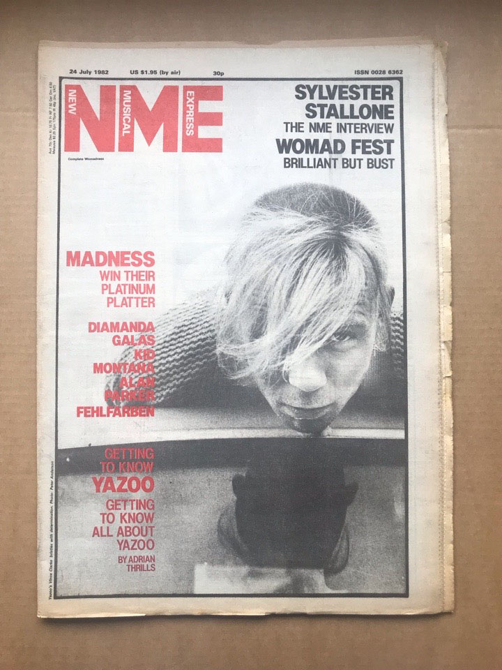 YAZOO - NME