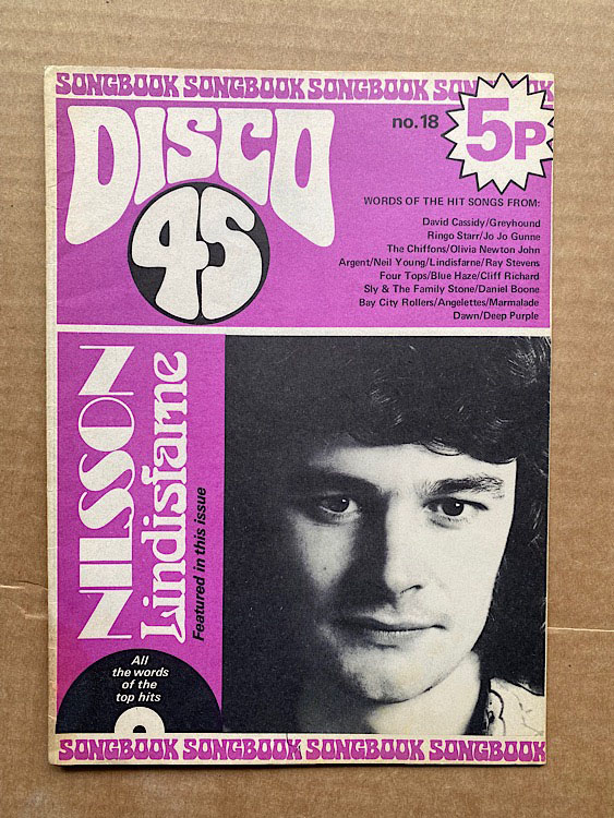 COLIN BLUNSTONE - DISCO 45 NO.18 - Magazine