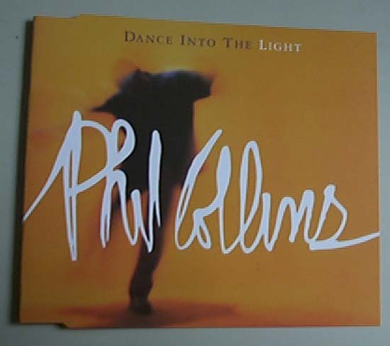 PHIL COLLINS - DANCE INTO THE LIGHT - CD single