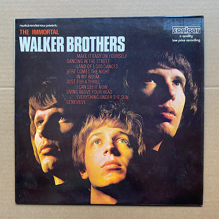 WALKER BROTHERS - IMMORTAL WALKER BROTHERS