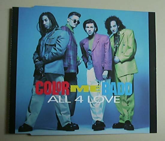 color me badd all 4 records lps vinyl and cds