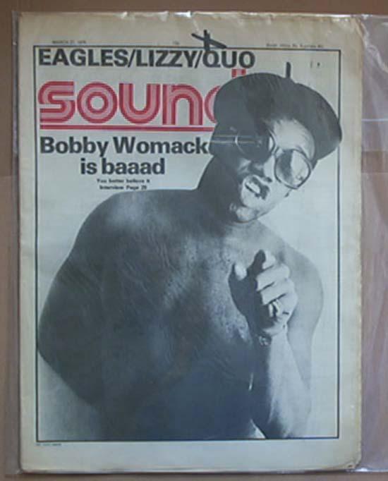 BOBBY WOMACK - SOUNDS - Magazine