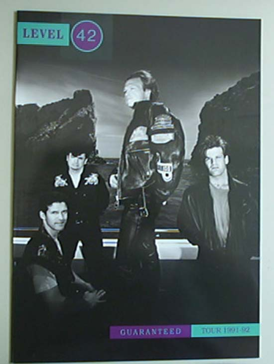 LEVEL 42 - Guaranteed Tour 91-92