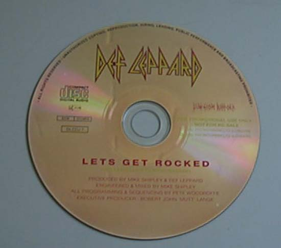 DEF LEPPARD - Let's Get Rocked CD