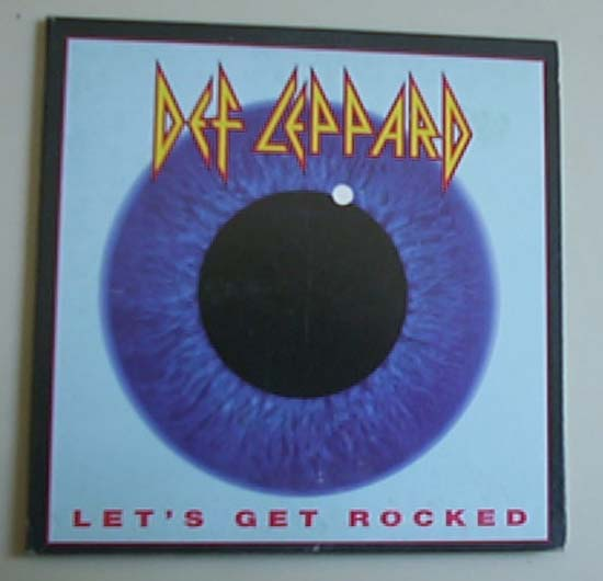 DEF LEPPARD - Let's Get Rocked 4:56 - U.s. Promo Issue -