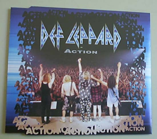 DEF LEPPARD - ACTION - CD single