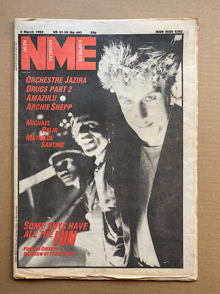 FUN BOY THREE - NME