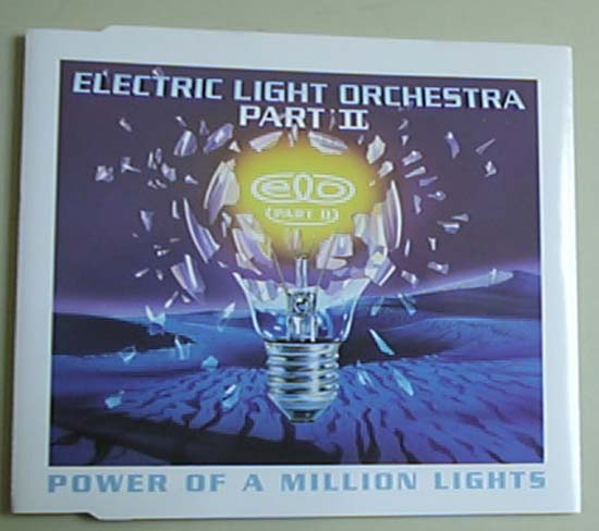 ELO PART 2 - POWER OF A MILLION LIGHTS - CD single