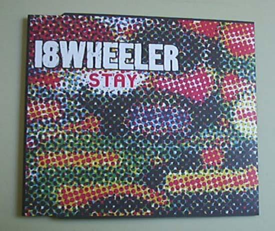 18 WHEELER - STAY(5 MIXES) - CD single