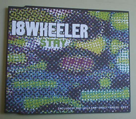 18 WHEELER - STAY - CD single