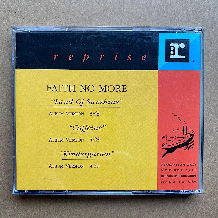 FAITH NO MORE - LAND OF SUNSHINE