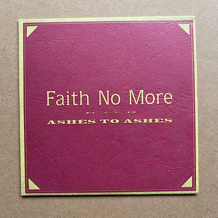 FAITH NO MORE - ASHES TO ASHES(CD1)
