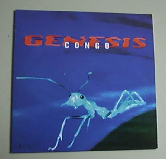 GENESIS - CONGO - CD single