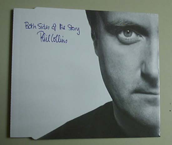 PHIL COLLINS - BOTH SIDES OF THE STORY - CD single