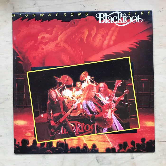 BLACKFOOT - Highway Song - Live Album