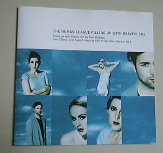 HUMAN LEAGUE - Filling Up With Heaven(cd1)