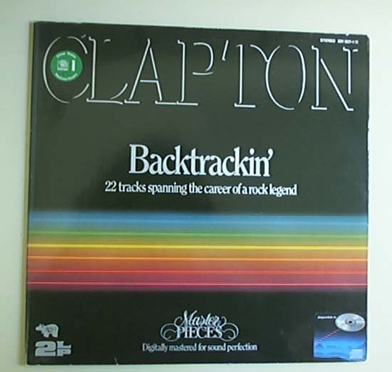 ERIC CLAPTON - Backtrackin Album