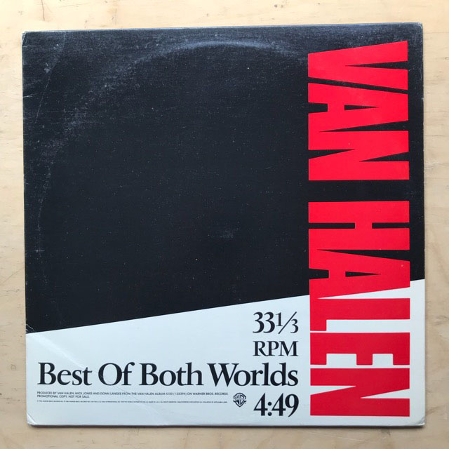 VAN HALEN - BEST OF BOTH WORLDS
