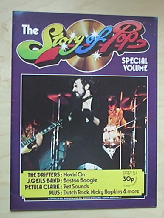 J GEILS BAND - STORY OF POP NO.51
