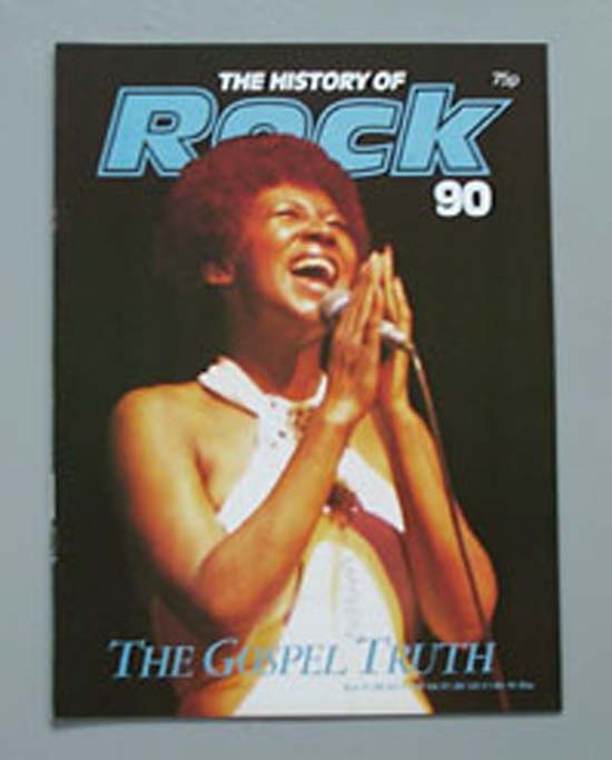 ARETHA FRANKLIN - HISTORY OF ROCK 90 - Magazine