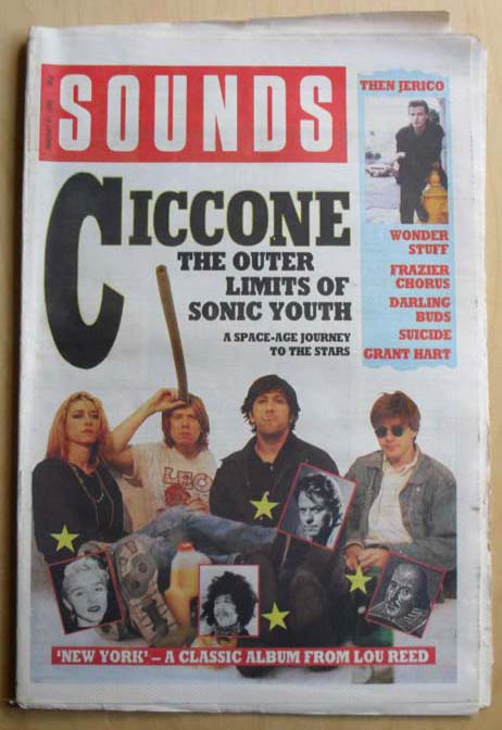 SONIC YOUTH - SOUNDS - Magazine