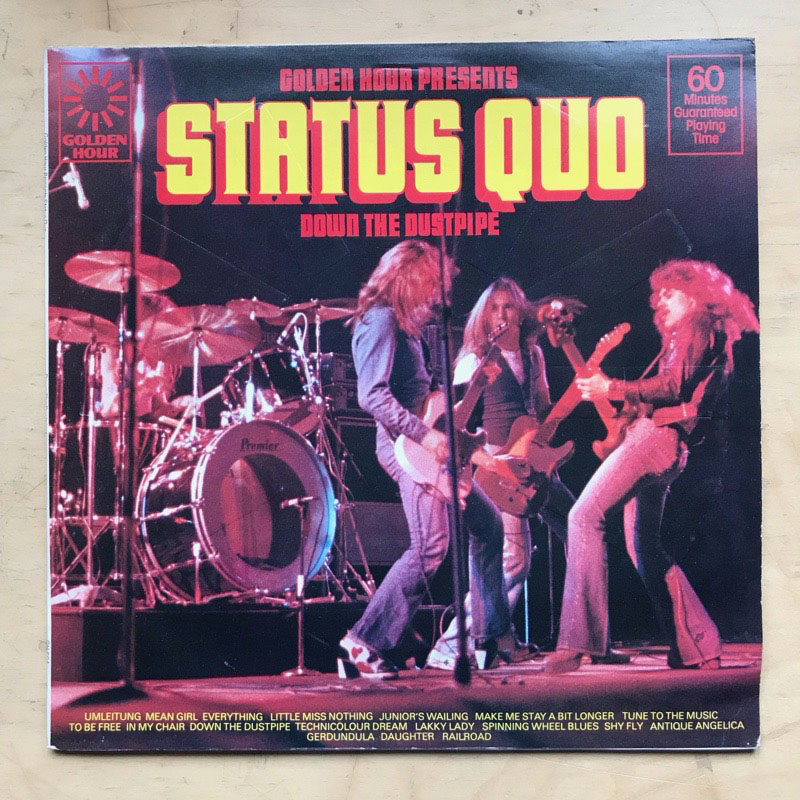 STATUS QUO - Down The Dustpipe LP