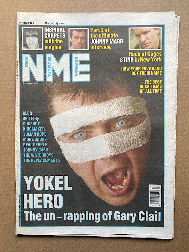 GARY CLAIL - NME